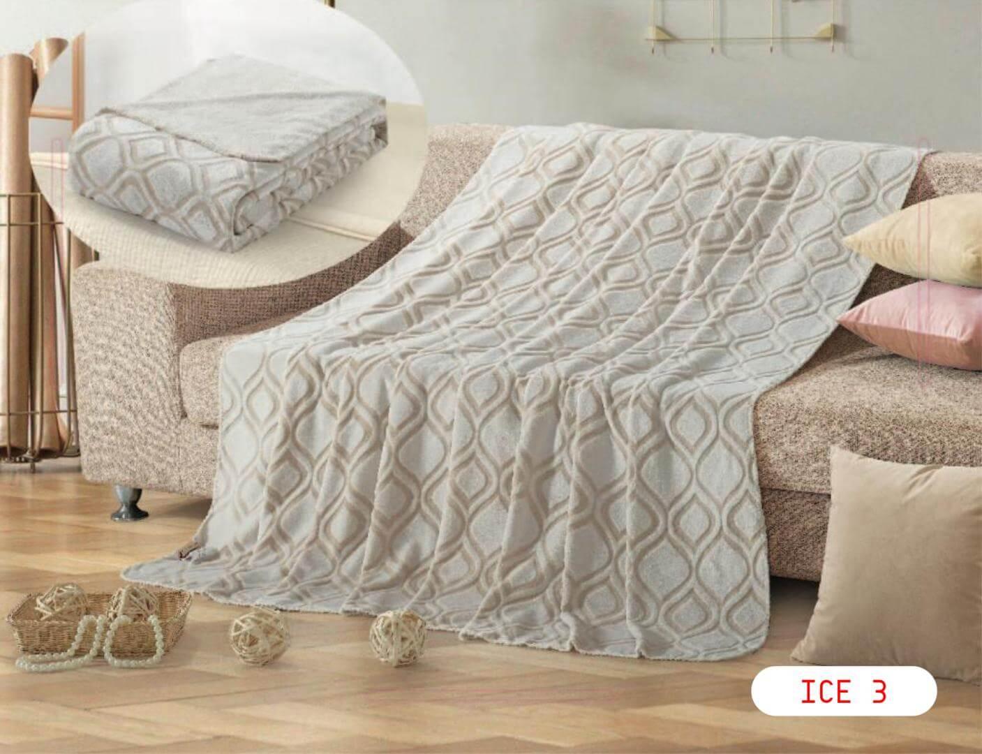 ICE بطانية خفيفة مفرد 160*220