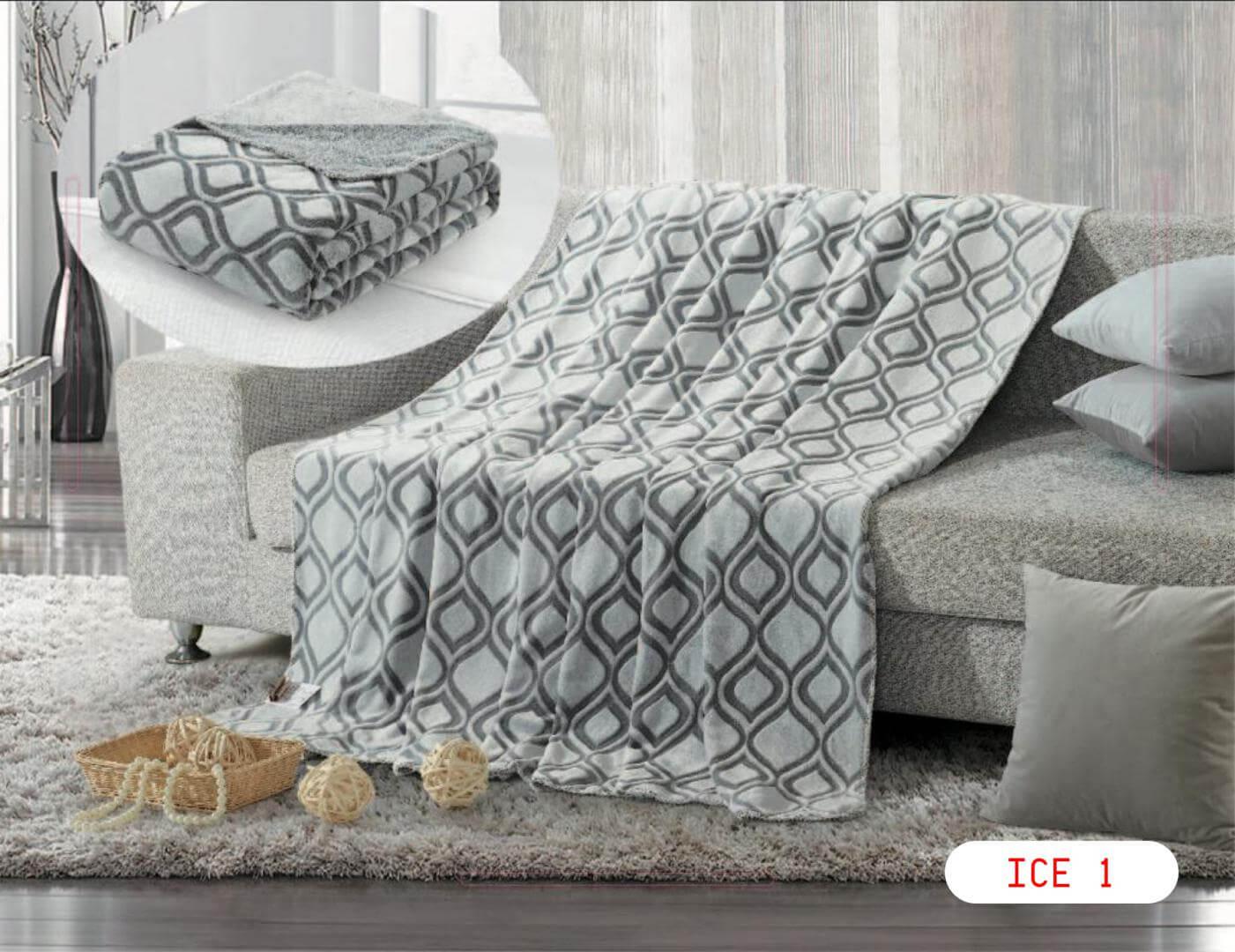 ICE بطانية خفيفة مجوز