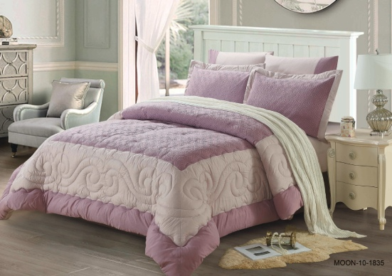 MOON COMFORTER 6 PCS SET