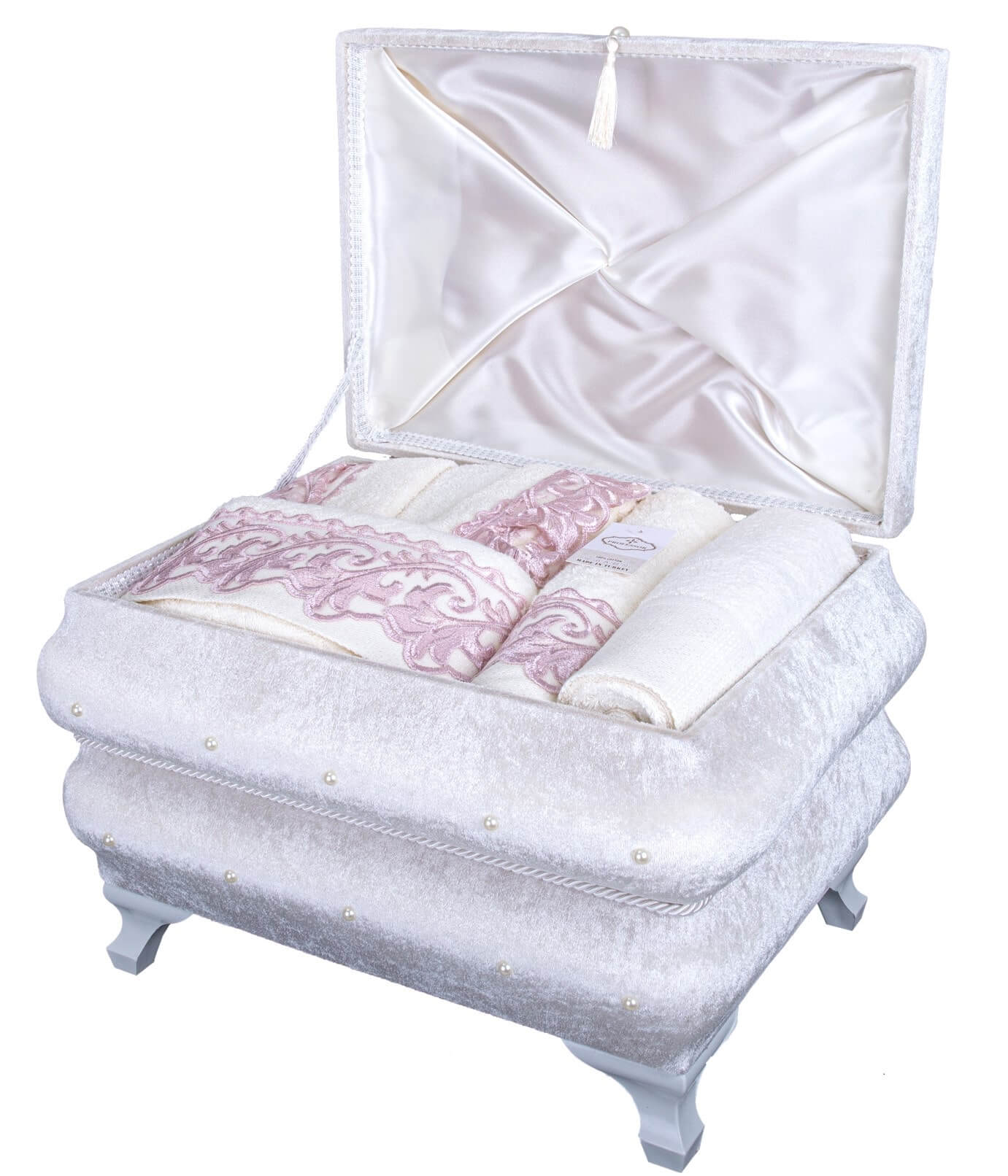 BATH ROBE 12PC SET BOX