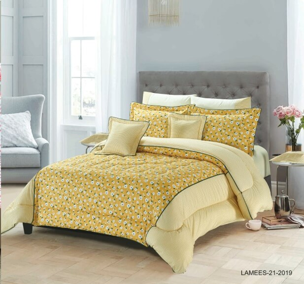 LAMESS COMFORTER 10 PCS COTTON