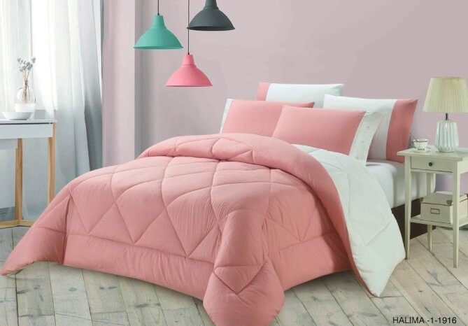 HALIMA COMFORTER 6 PCS SET